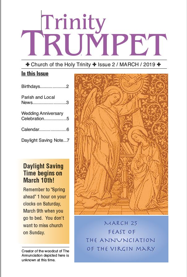 March Trumpet cover page