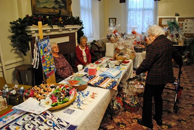 Holiday Fair House of Talents table