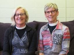 Rev. Mary Barnett and Rev. Mary Anne Osborn