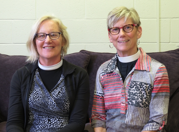 Rev. Mary Barnett and Rev. Mary Anne Osborn